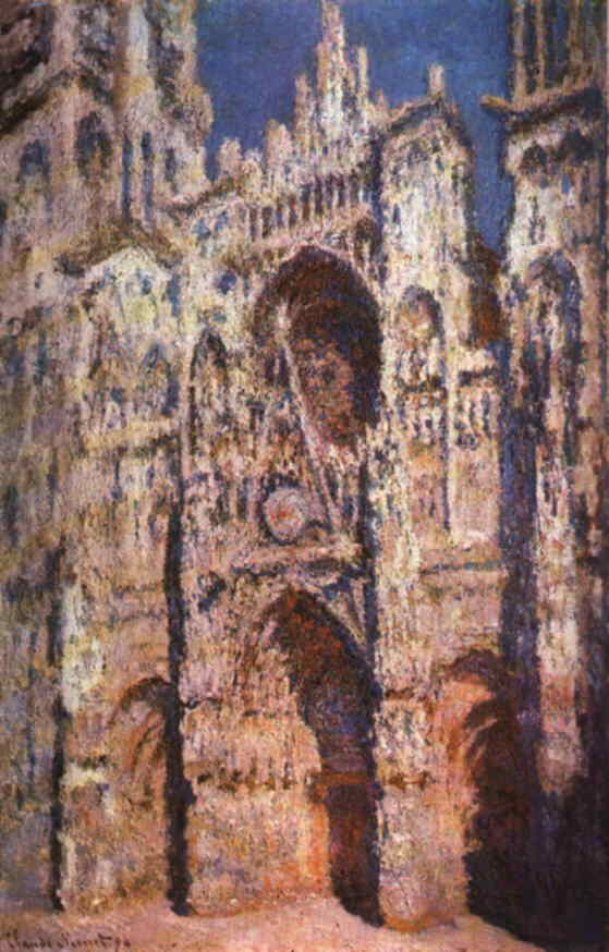Rouen Cathedral, Claude Monet
