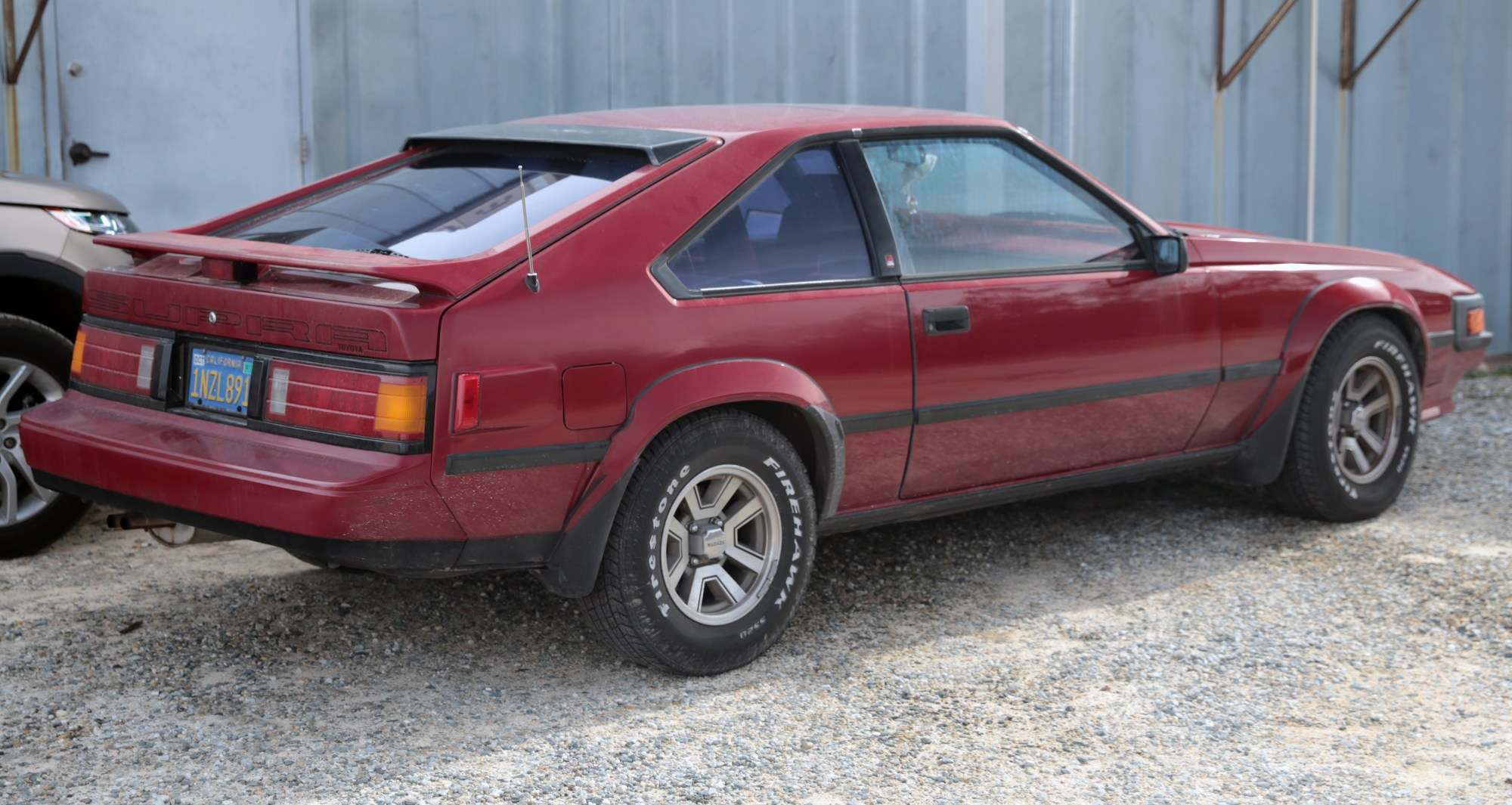 hight resolution of 1986 toyota supra 2 8 with the third brake light ma67 us