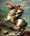 jacque-louis david: napoleon crossing the alps