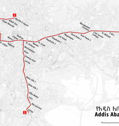 map of the addis ababa light rail png [ 2390 x 1565 Pixel ]