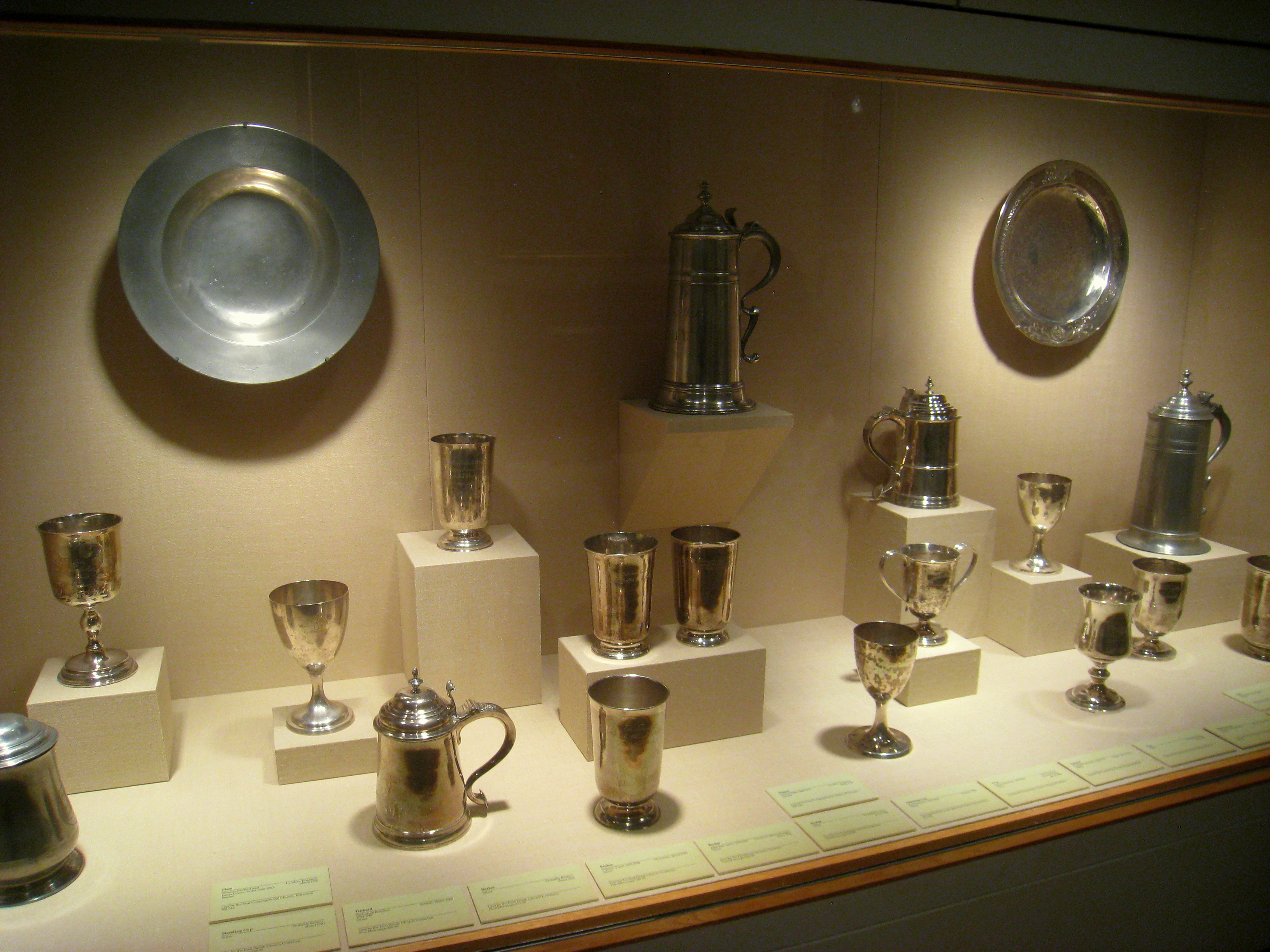 FilePaul Revere silver collection Worcester Art Museum