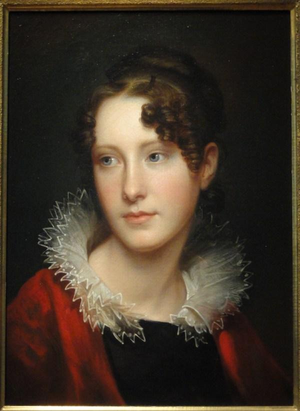File Portrait Of Rosalba Peale Circa 1820 Rembrandt