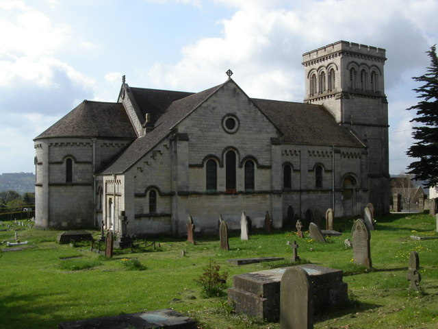 St Paul's parish church, Whiteshill, Gloucestershire