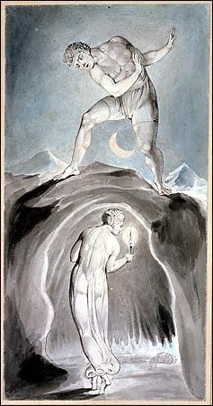 English: One of William Blake's watercolour il...