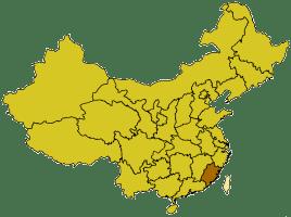China provinces fujian
