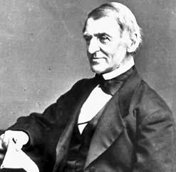Deutsch: Ralph Waldo Emerson (*1803, † 1882)