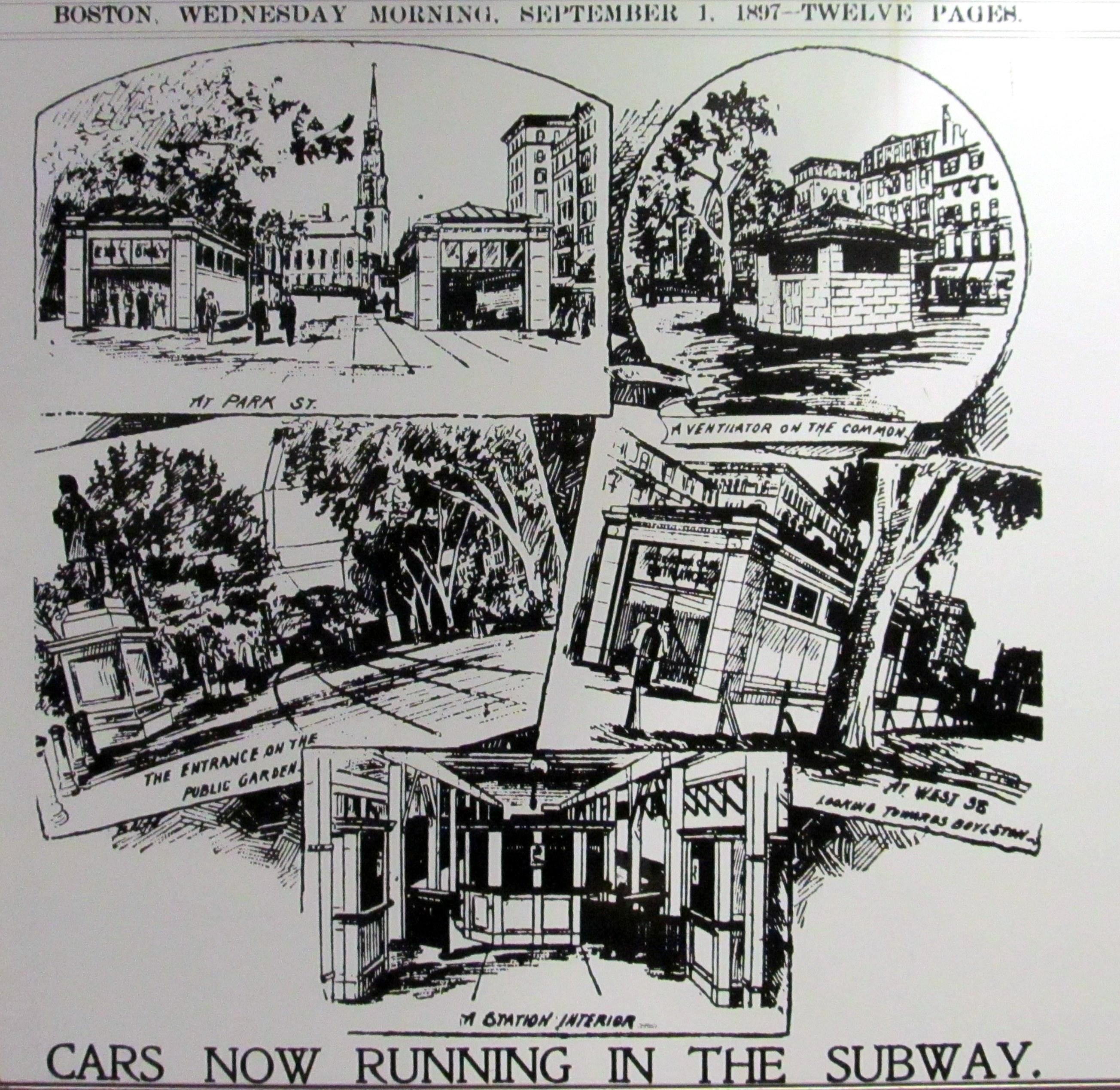 By Boston Daily Globe (Sign at Park Street station) [Public domain], via Wikimedia Commons