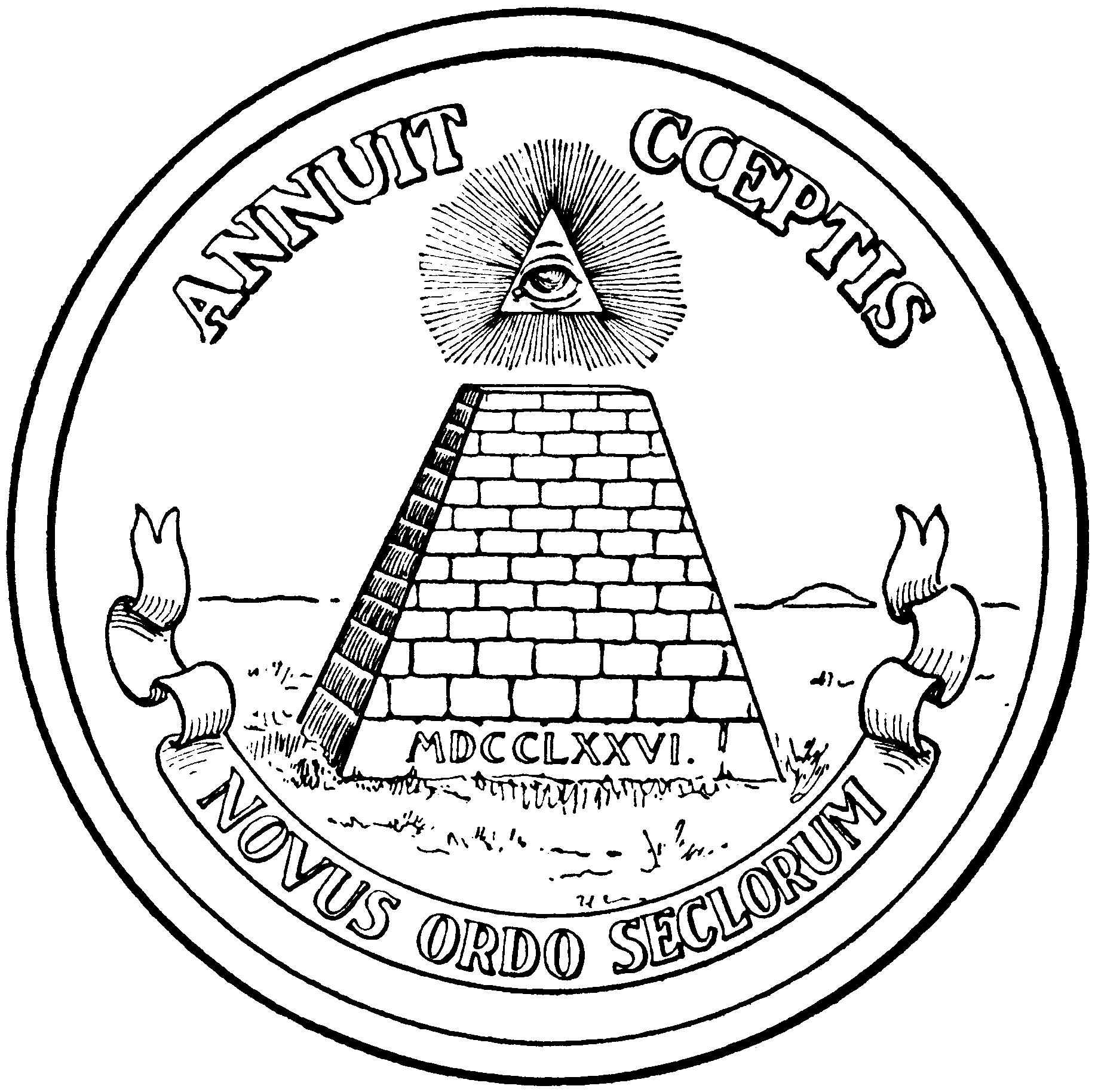 Seclorum Novus Seal Great Annuit Mdcclxxvi Coeptis Ordo
