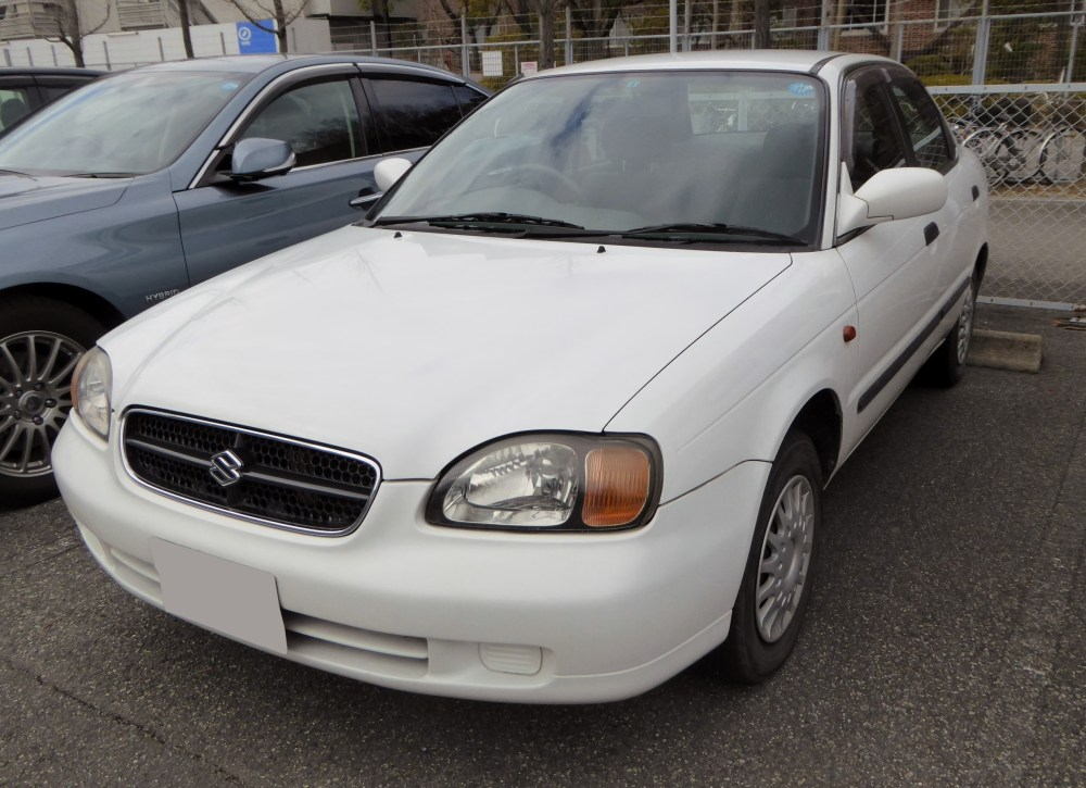 medium resolution of 1998 2001 suzuki cultus sedan japan