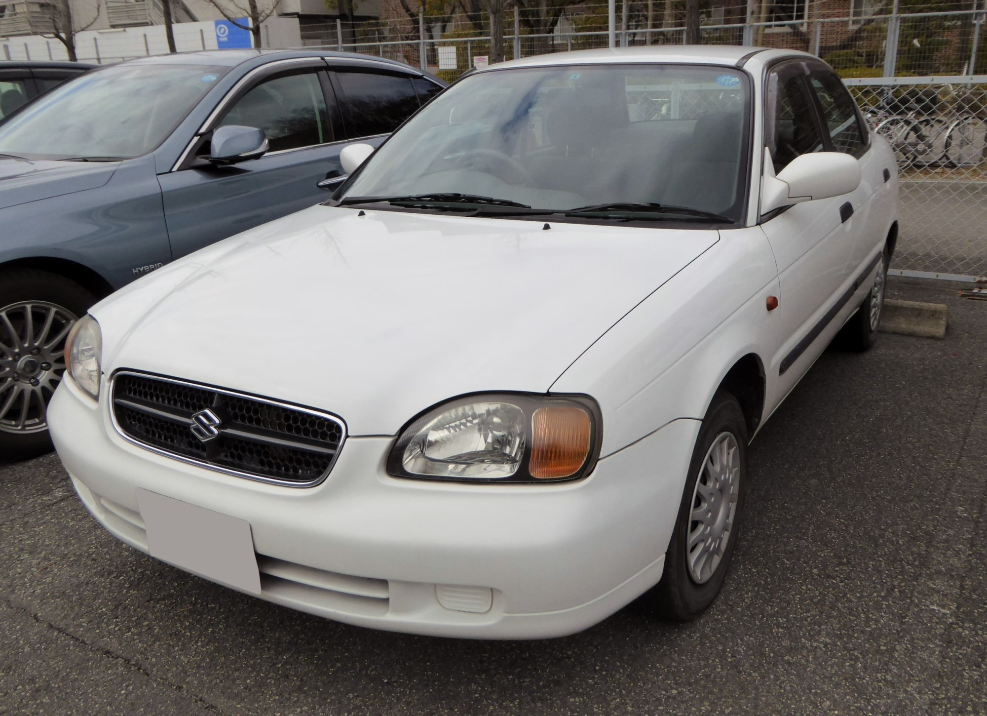 hight resolution of 1998 2001 suzuki cultus sedan japan