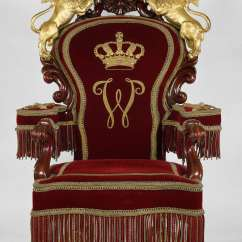 The Chair King Folding Wood File Throne Of Kings William Ii Iii And Queen