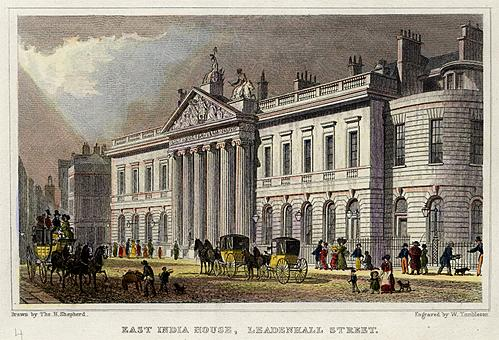 Large building from early 19thC London
