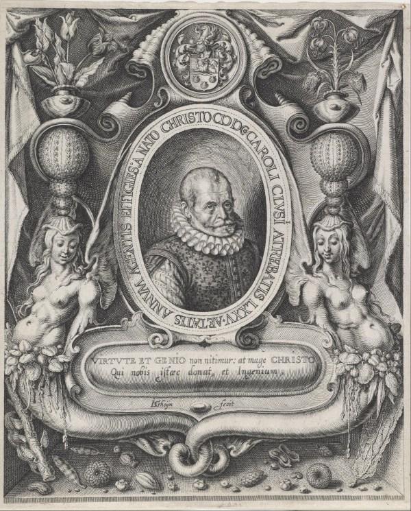 File Jacques De Gheyn Ii - Portrait Of Carolus Clusius