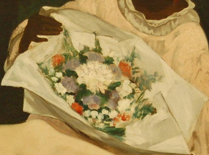 Dosya:Manet olympia bouquet detail.JPG