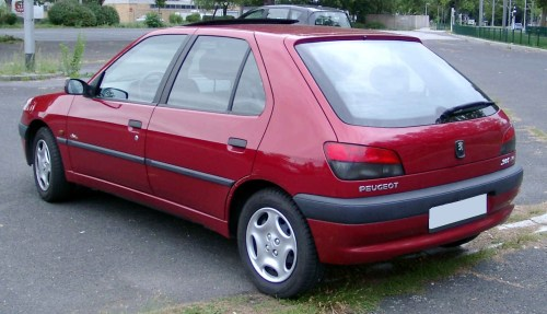 small resolution of phase 2 peugeot 306 rear