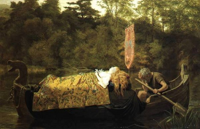 File:Sophie Anderson Elaineor (The Lily Maid of Astolat) 1870.jpg