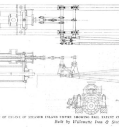 file steam engine plans inland empire 1909 png [ 1644 x 852 Pixel ]