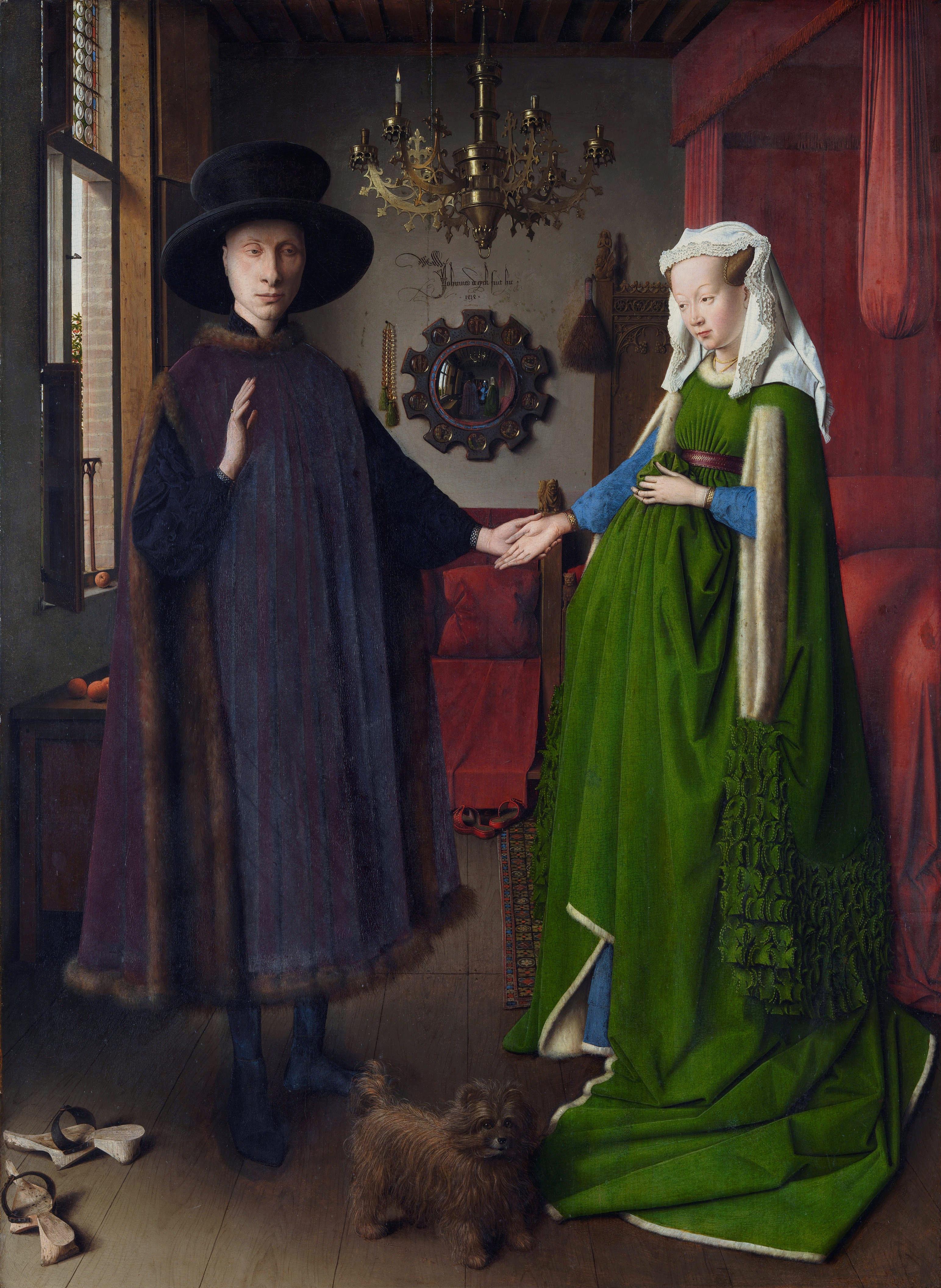 Jan van Eyck: Die Arnolfini Hochzeit