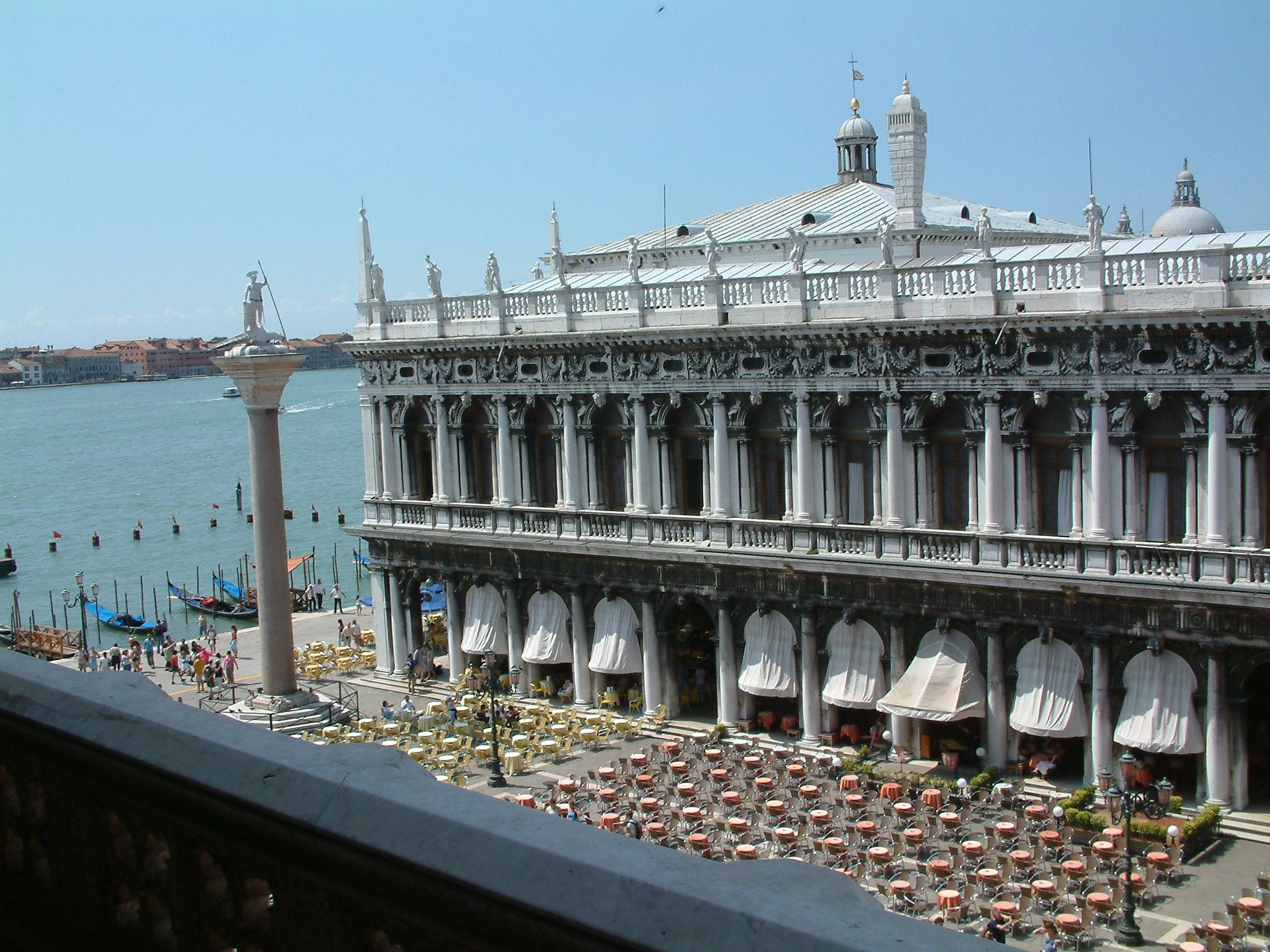 Sansovino. Marciana Library in Venice.