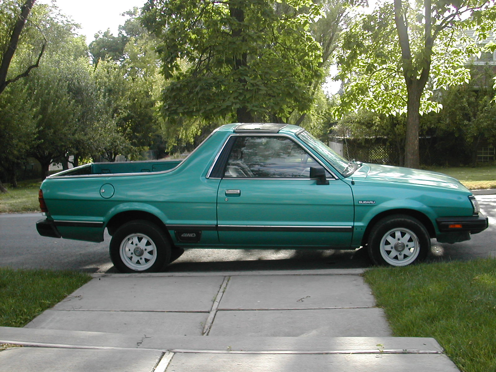 hight resolution of subaru brat edit