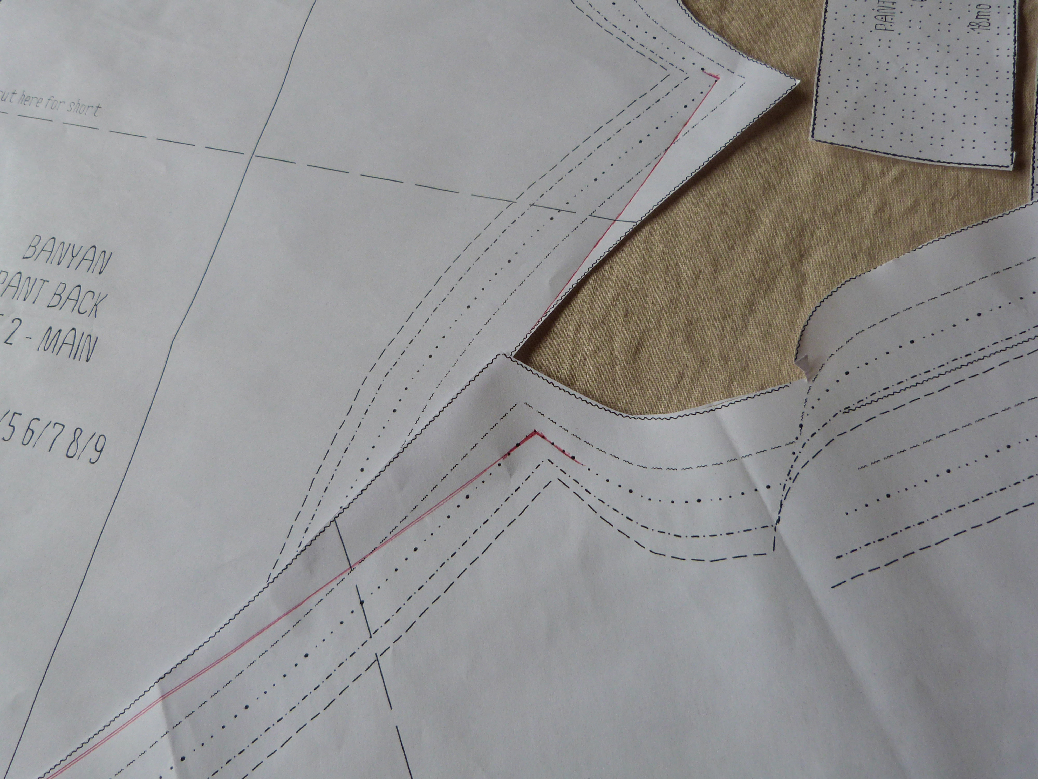 Sewing Pattern Guide Sheet Definition