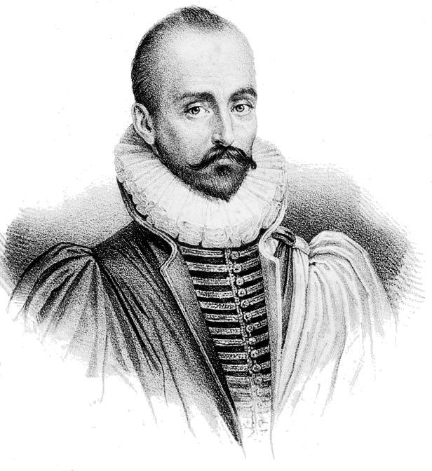 Michel de Montaigne wrote of his condition tha...