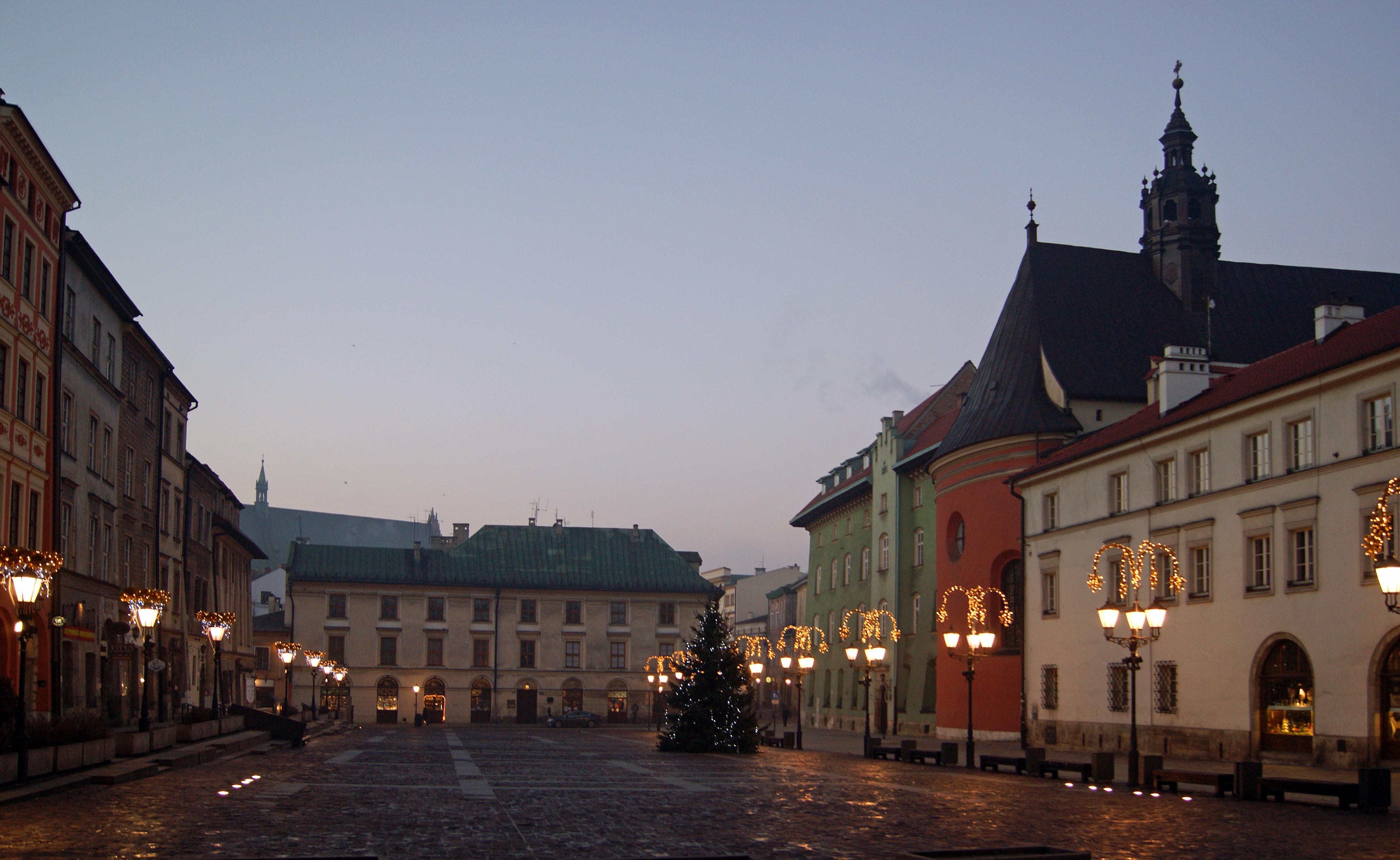 File:Old Town, Little Market Square, Krakow, Poland.jpg
