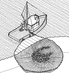 file purse seine illustration historic american engineering record png [ 2598 x 3040 Pixel ]