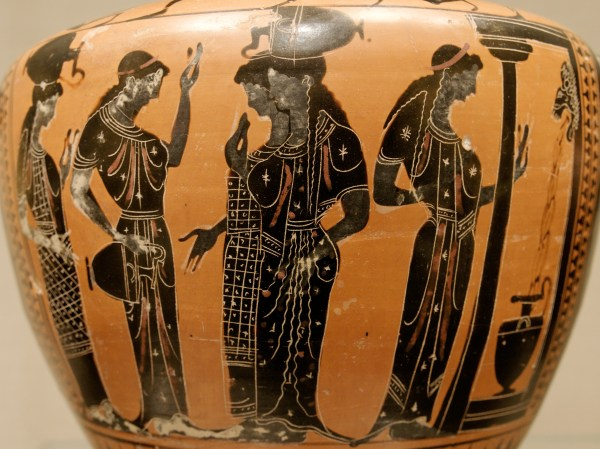 Lessons Greek Vase Deep In Heart Of Textiles