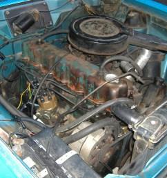 file 1975 amc hornet 232 i6 engine jpg [ 2304 x 1728 Pixel ]