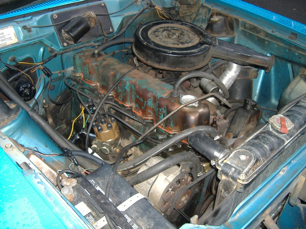 medium resolution of file 1975 amc hornet 232 i6 engine jpg