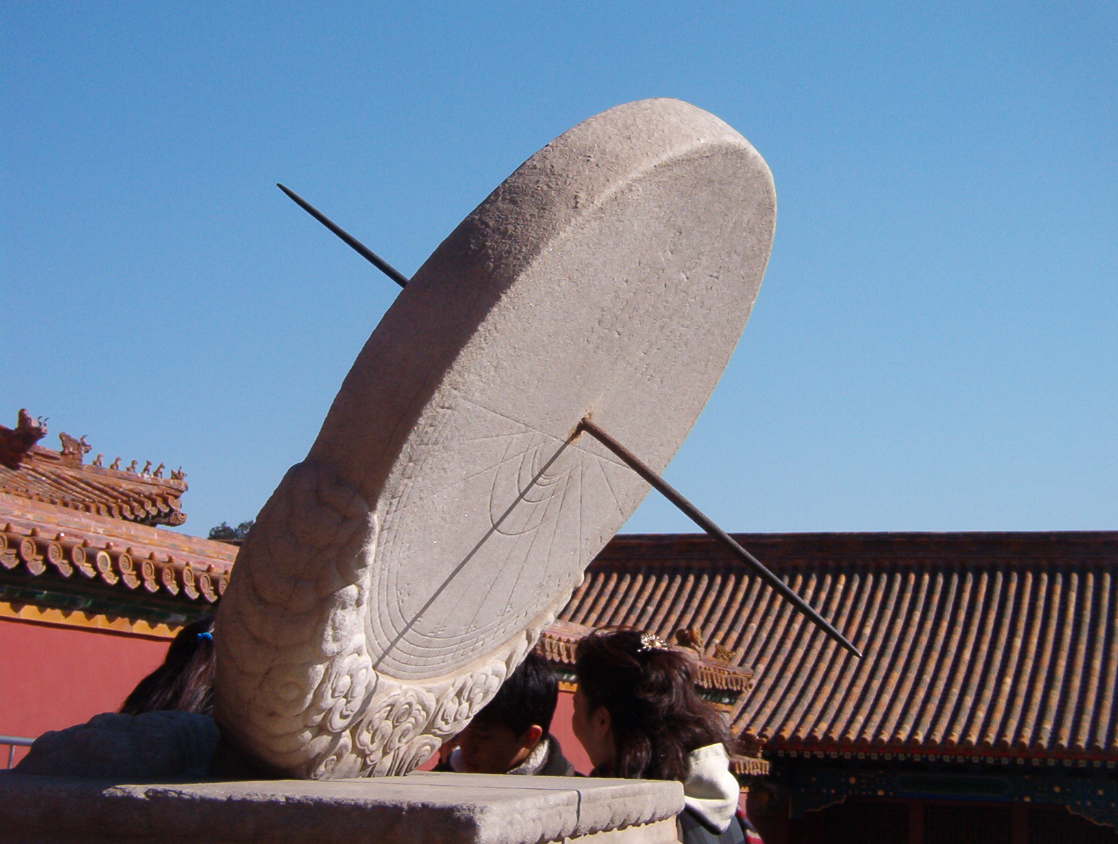 Equatorial Sundial in Beijing