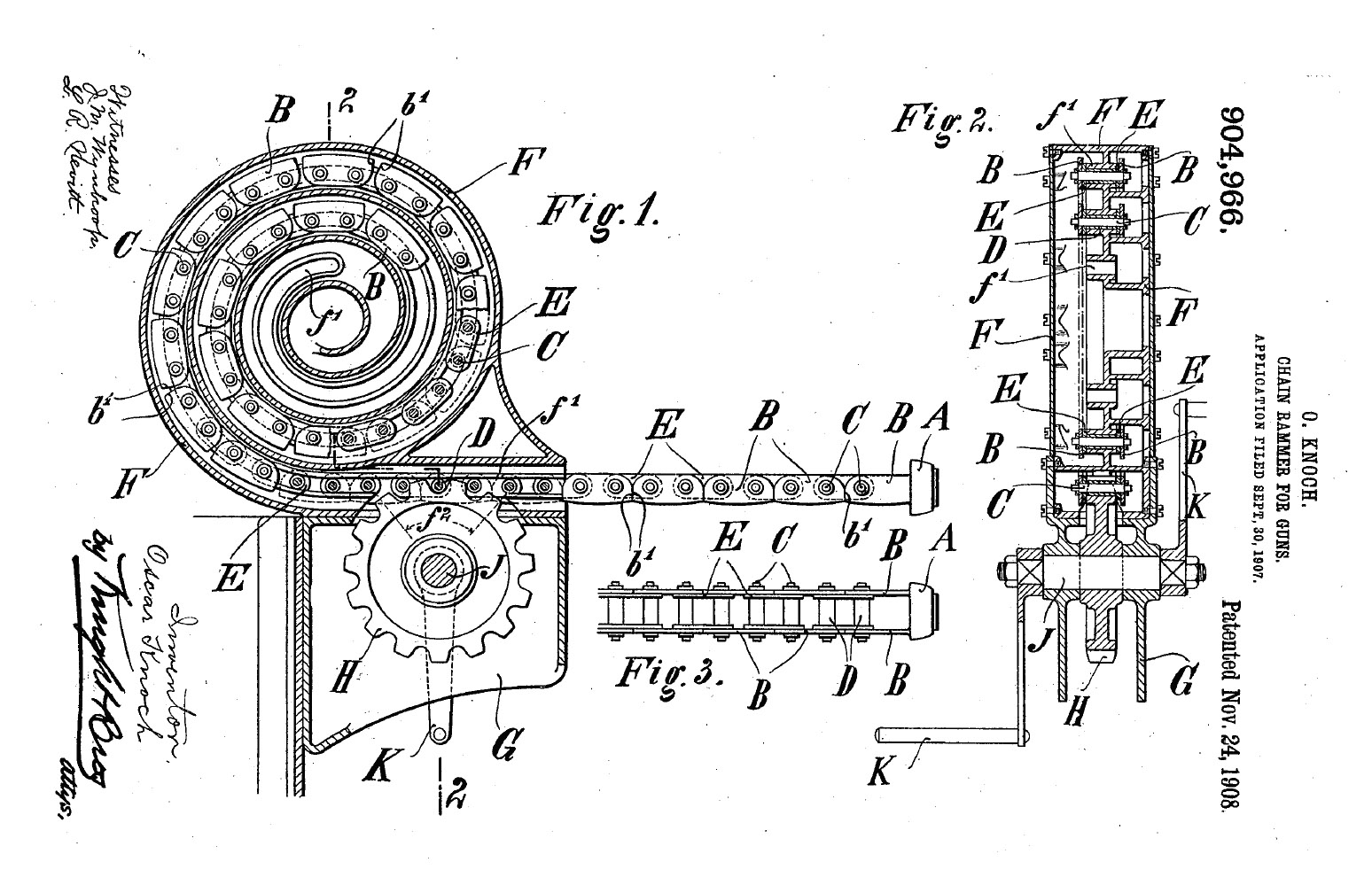 File Chain Rammer Patent