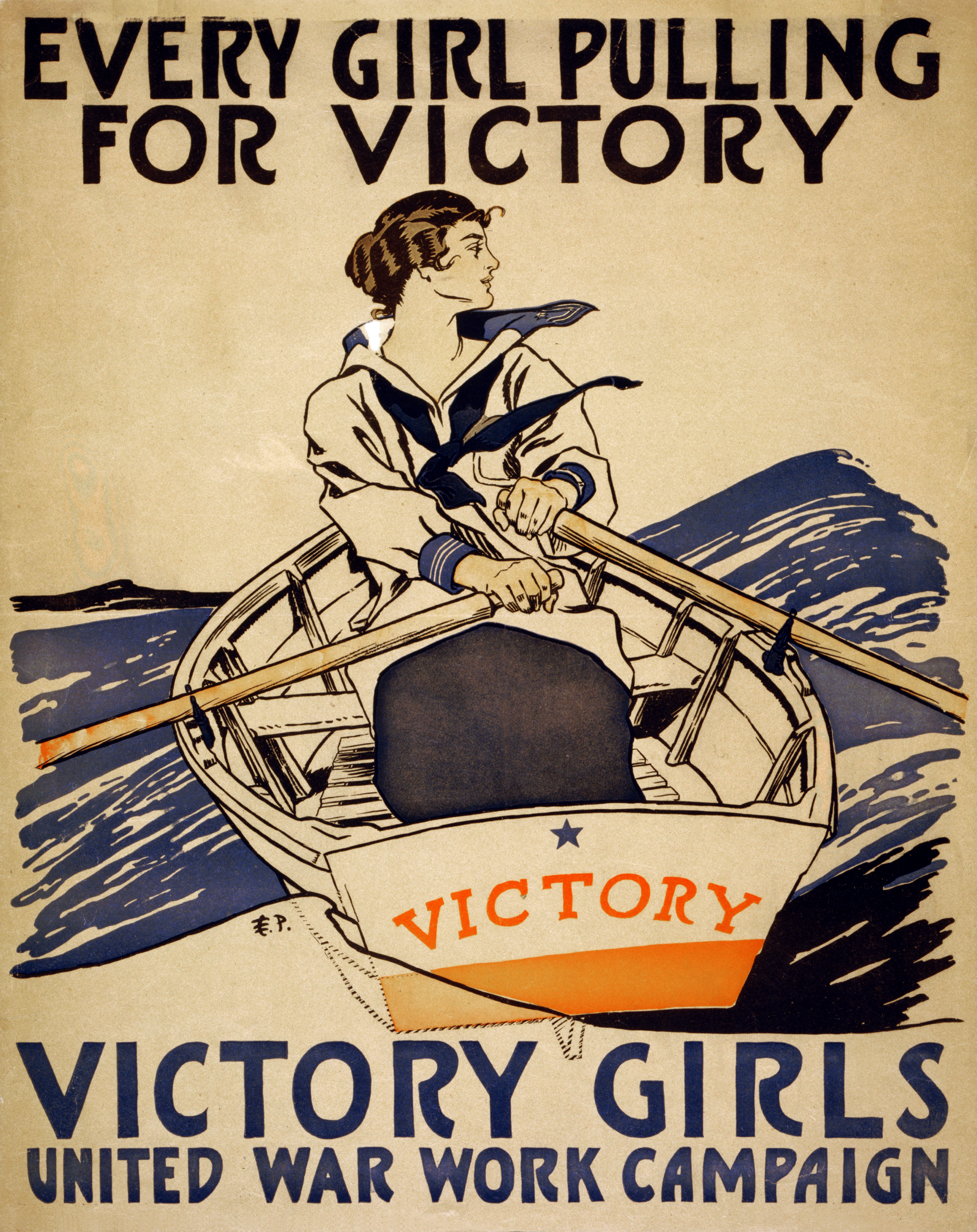 File Every Girl Pulling For Victory Wwi Poster