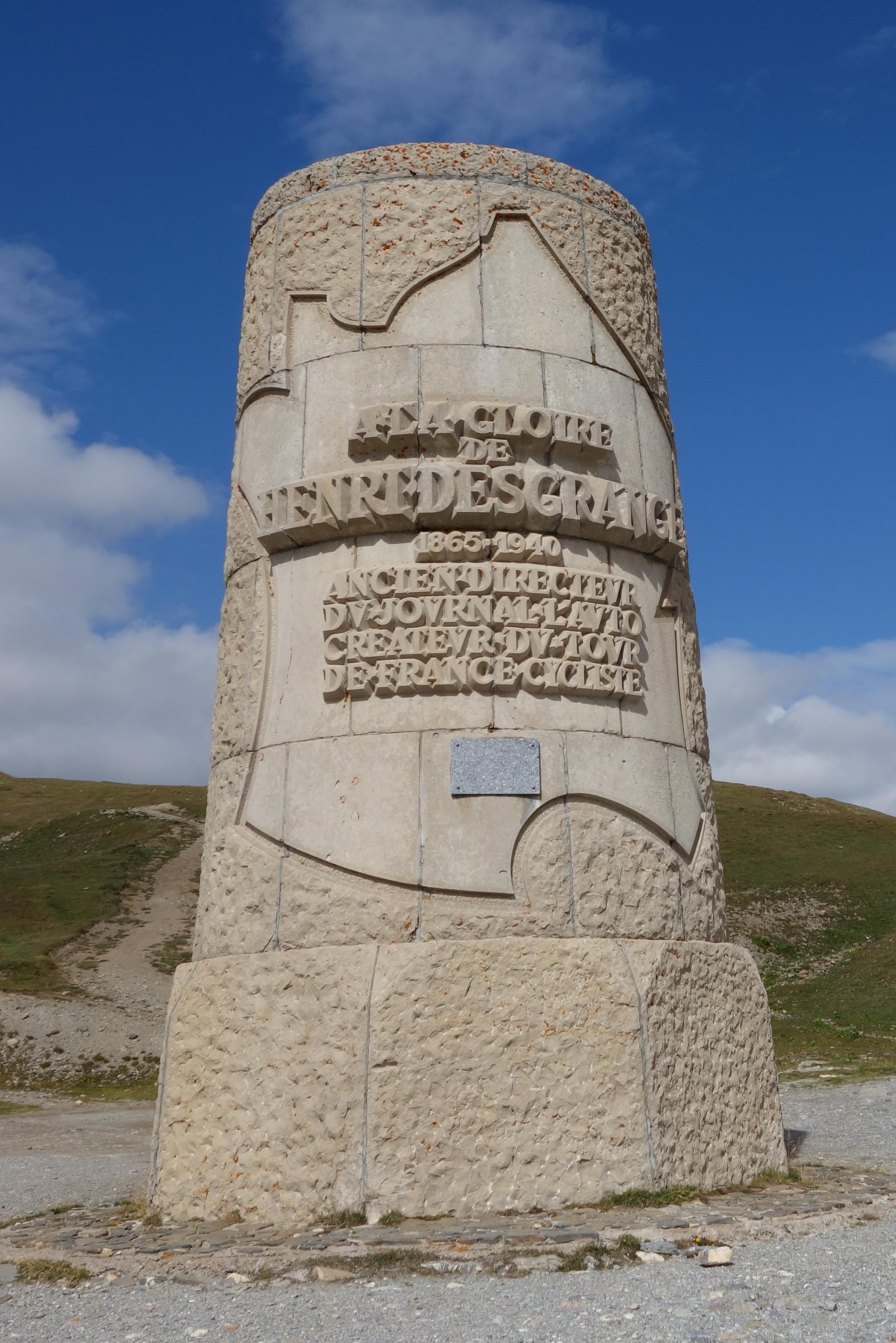 Les 5 Monuments Du Cyclisme : monuments, cyclisme, Souvenir, Henri, Desgrange, Wikipedia