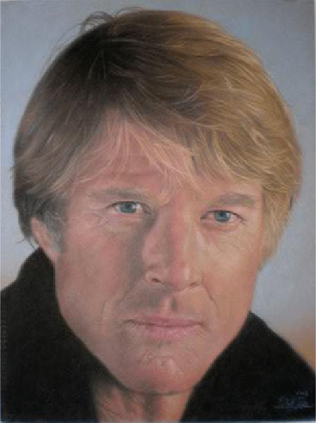 FileRobert Redford pastel portrait by Robert Perez Palou