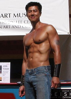 American adult film actor and photographer Van...
