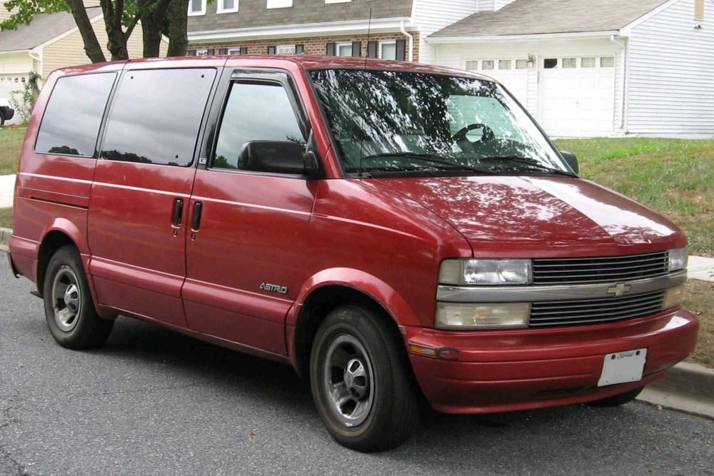 medium resolution of 1991 astro van