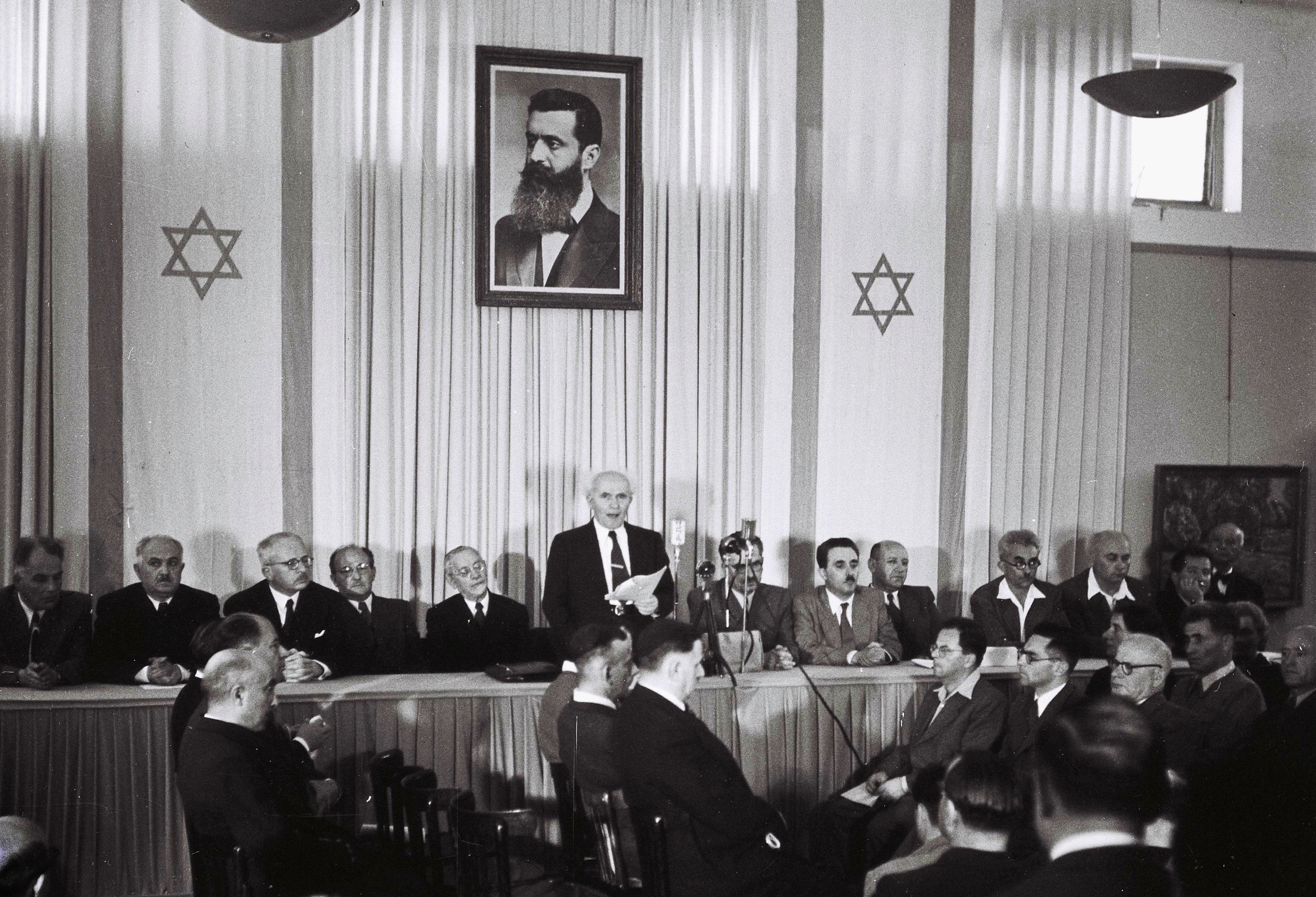 קובץ:Declaration of State of Israel 1948.jpg