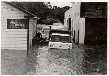 English: Flooding in Maryland after Hurricane ...