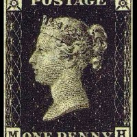Penny Black - First Postage Stamp