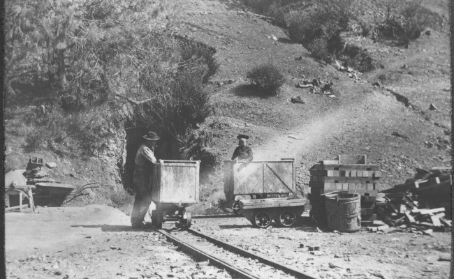 File Photograph Of The Entrance To The Golden Rule Mine In