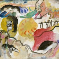 Improvisation 27 (Garden of Love II) by Wassily Kandinsky
