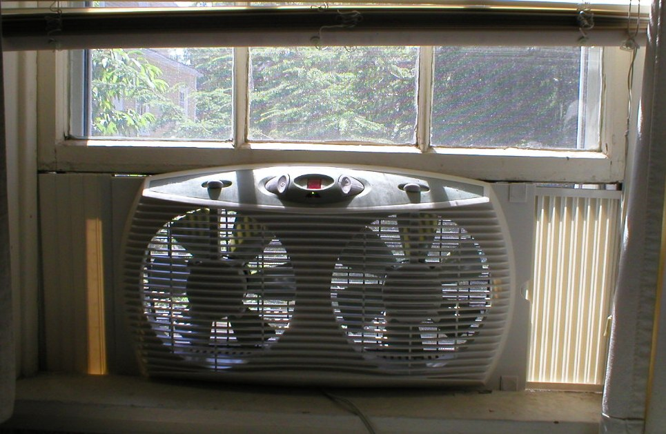 Home Air Conditioning Windows Open
