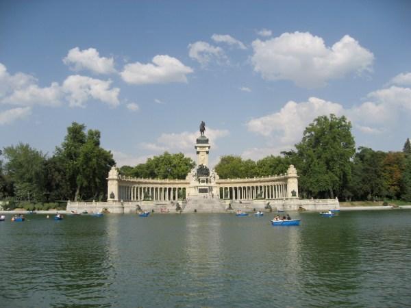 Buen Retiro Park Madrid
