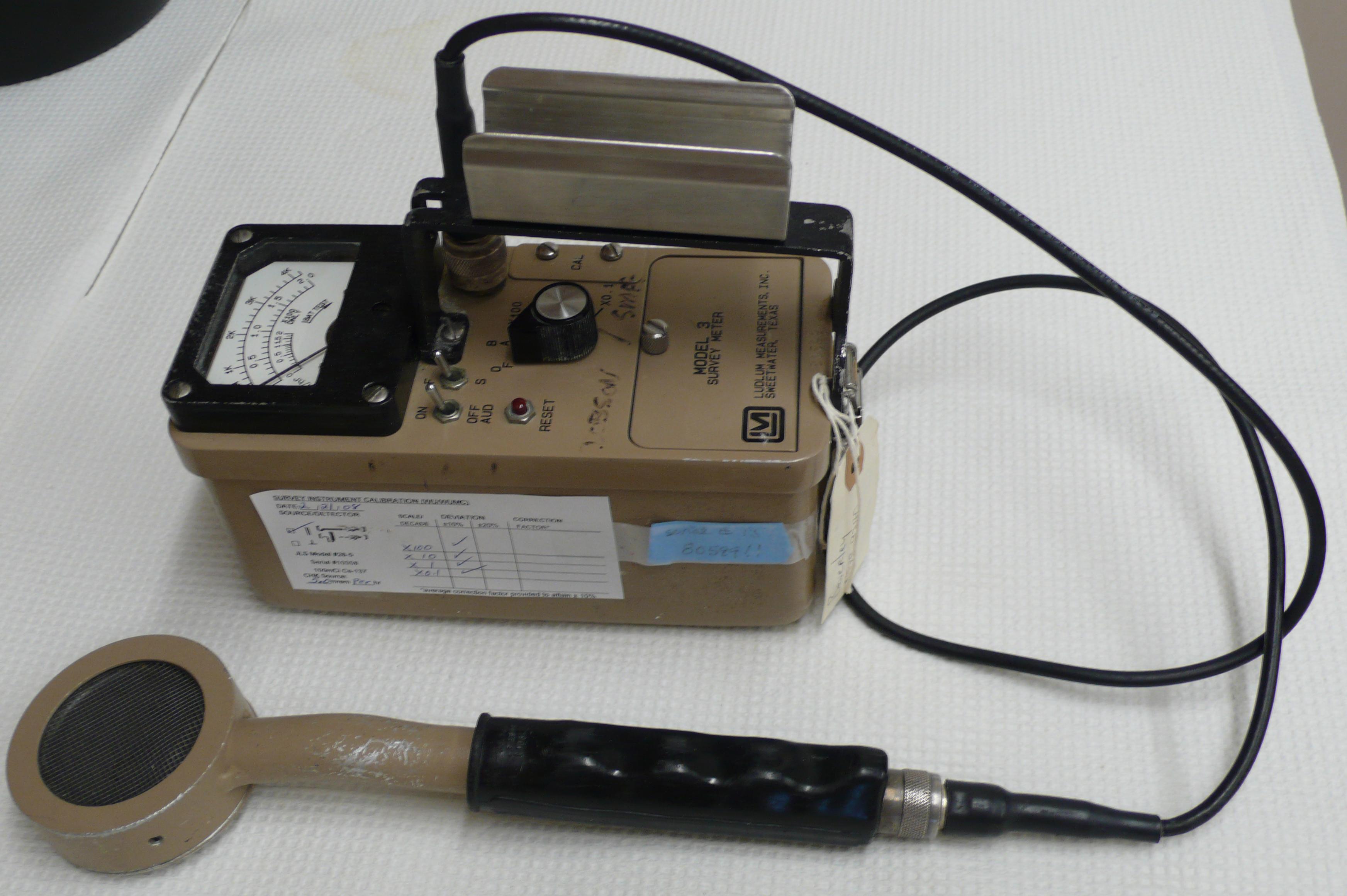 Geiger Counter Schematic 1965