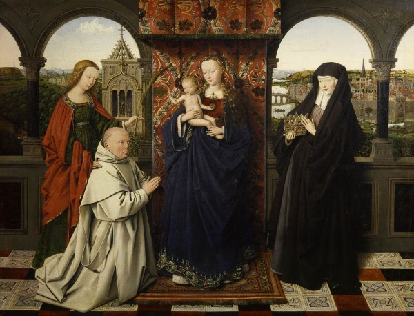 File Jan Van Eyck - Virgin And Child With Saints