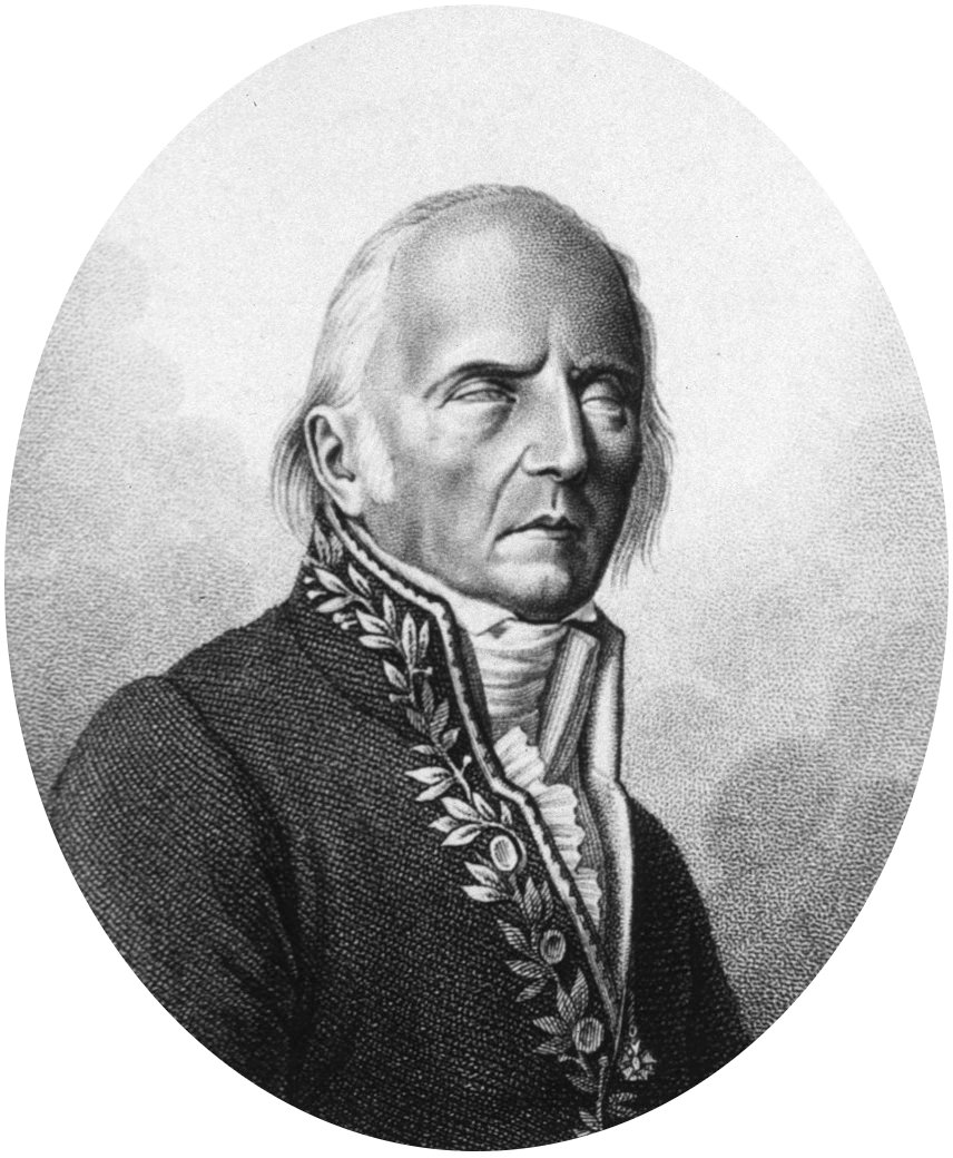 Lamarck, late in life.