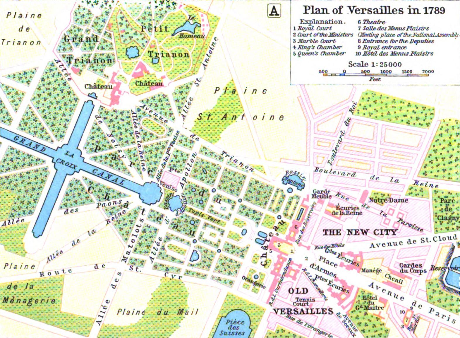 Chateau de Versailles (Plan)