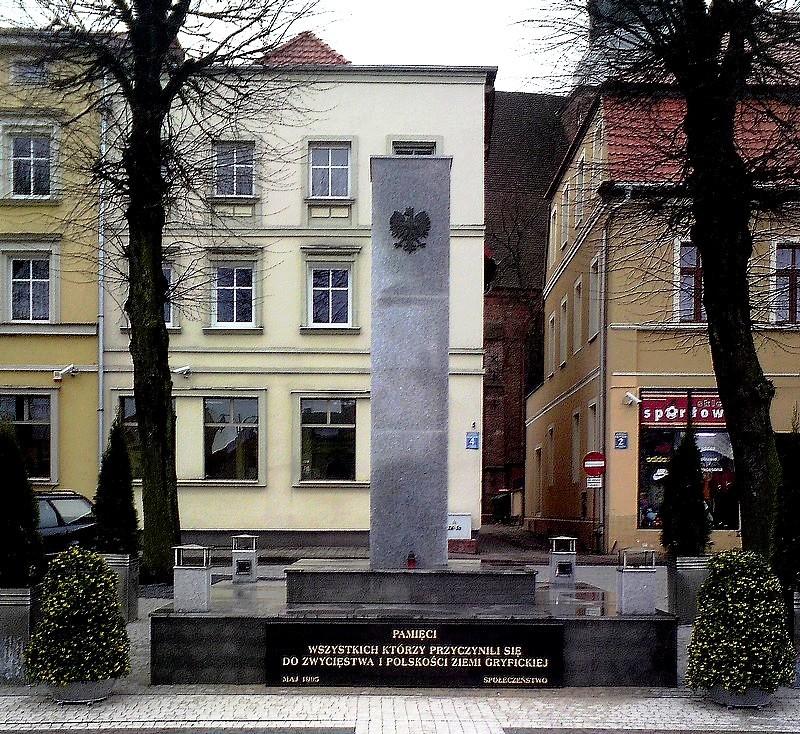 "Monument of ""Gratitude"" in Gryfice (..."